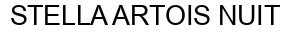 Международный товарный знак №1005727 STELLA ARTOIS NUIT