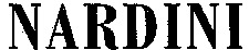 Международный товарный знак №1024049 NARDINI