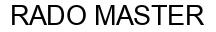 Международный товарный знак №1041314 RADO MASTER