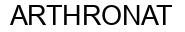Международный товарный знак №1043557 ARTHRONAT