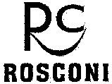 Международный товарный знак №1046928 ROSCONI