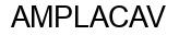 Международный товарный знак №1160109 AMPLACAV