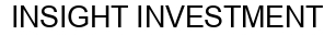 Международный товарный знак №1163060 INSIGHT INVESTMENT