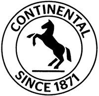 Международный товарный знак №1193656 CONTINENTAL SINCE 1871