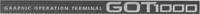 Международный товарный знак №1244662 GRAPHIC OPERATION TERMINAL GOT1000