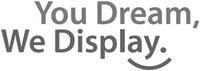 Международный товарный знак №1263631 You Dream, We Display.