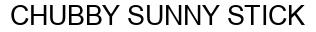 Международный товарный знак №1373100 CHUBBY SUNNY STICK