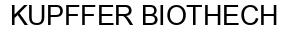 Международный товарный знак №1381961 KUPFFER BIOTHECH