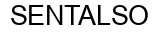 Международный товарный знак №1382072 SENTALSO