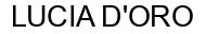 Международный товарный знак №1434029 LUCIA D'ORO