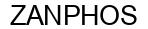 Международный товарный знак №1574118 ZANPHOS