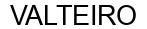 Международный товарный знак №1576006 VALTEIRO