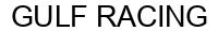 Международный товарный знак №1582919 GULF RACING
