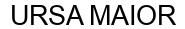 Международный товарный знак №1583341 URSA MAIOR