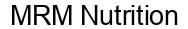 Международный товарный знак №1584767 MRM Nutrition
