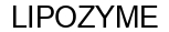 Международный товарный знак №1585352 LIPOZYME