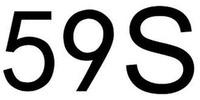 Международный товарный знак №1588405 59S