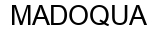 Международный товарный знак №1589488 MADOQUA