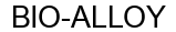 Международный товарный знак №1593950 BIO-ALLOY