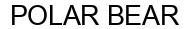 Международный товарный знак №1594895 POLAR BEAR