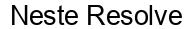 Международный товарный знак №1595151 Neste Resolve