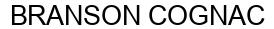 Международный товарный знак №1596577 BRANSON COGNAC
