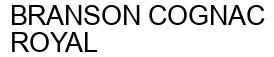 Международный товарный знак №1596594 BRANSON COGNAC ROYAL