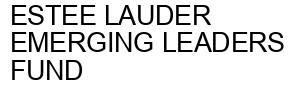 Международный товарный знак №1598334 ESTEE LAUDER EMERGING LEADERS FUND
