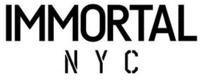 Международный товарный знак №1598871 IMMORTAL N Y C