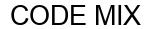 Международный товарный знак №1598463 CODE MIX