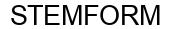 Международный товарный знак №1601311 STEMFORM