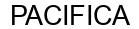 Международный товарный знак №1603188 PACIFICA