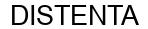 Международный товарный знак №1603589 DISTENTA