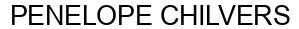 Международный товарный знак №1603268 PENELOPE CHILVERS