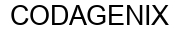 Международный товарный знак №1604752 CODAGENIX
