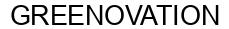 Международный товарный знак №1605357 GREENOVATION