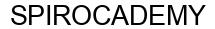 Международный товарный знак №1607963 SPIROCADEMY