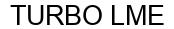 Международный товарный знак №1608194 TURBO LME