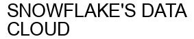 Международный товарный знак №1611799 SNOWFLAKE'S DATA CLOUD