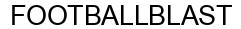 Международный товарный знак №1611005 FOOTBALLBLAST