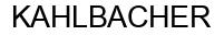 Международный товарный знак №331441 KAHLBACHER