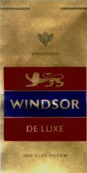 Международный товарный знак №338667 WINDSOR DE LUXE