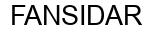 Международный товарный знак №338734 FANSIDAR