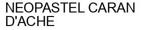 Международный товарный знак №339413 NEOPASTEL CARAN D'ACHE