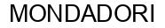 Международный товарный знак №492194 MONDADORI