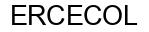 Международный товарный знак №492168 ERCECOL
