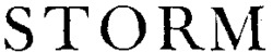 Международный товарный знак №492628A STORM