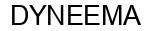 Международный товарный знак №493053 DYNEEMA