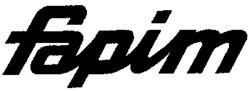 Международный товарный знак №547249 fapim