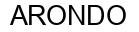Международный товарный знак №548194 ARONDO